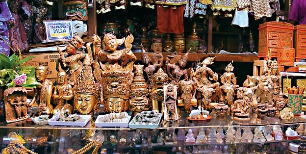 Рынок Янгона