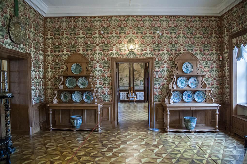 Убранство дворца Меньшикова