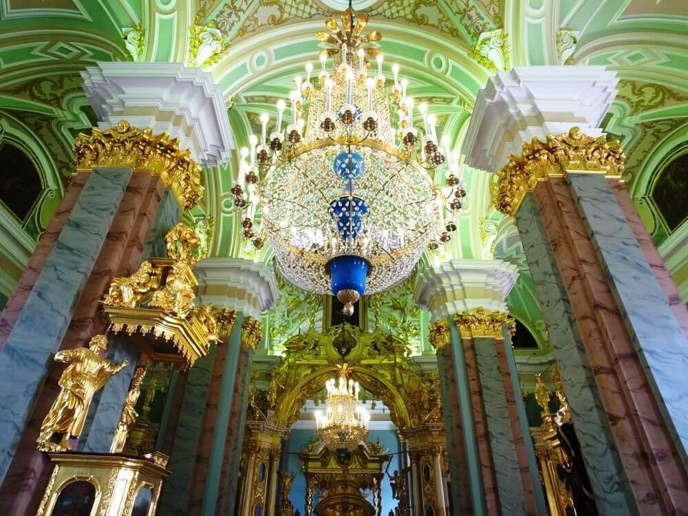 Убранство Петропавловского собора