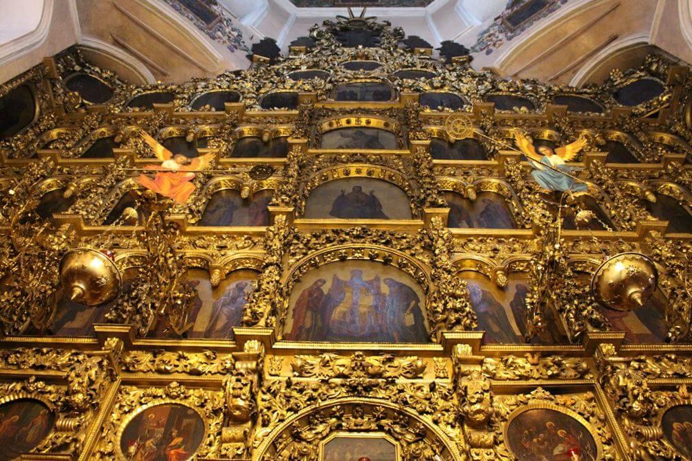Иконостас Петропавловского собора