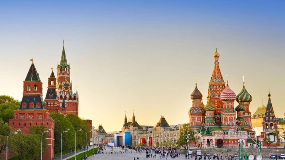 Красная Площадь и Кремль