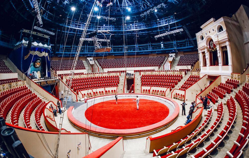 Цирки Петербурга