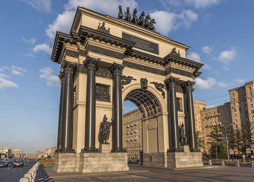 Триумфальные ворота в Москве