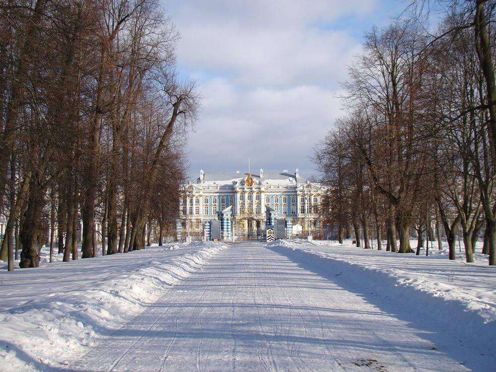 Зима в Царском селе