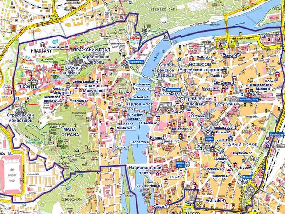 45 достопримечательностей Праги
