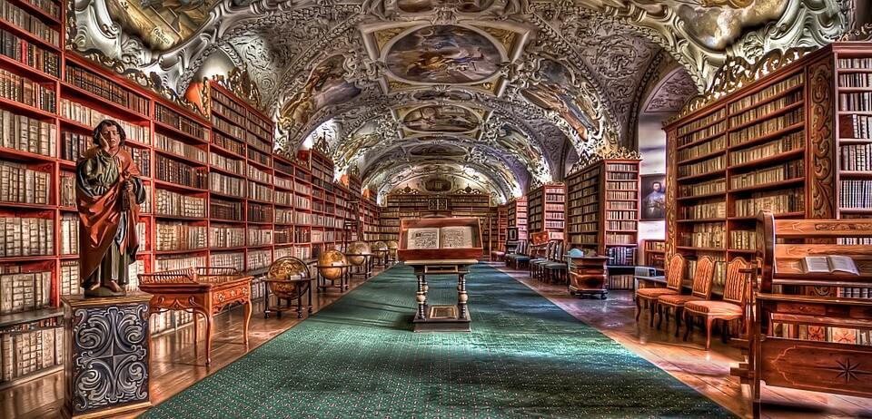 Роспись библиотеки